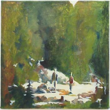 Gläntan, 30x30 cm 2011, OPD