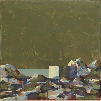 Strandfynd 1, 30x30 cm 2011, OPD