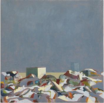 Strandfynd 2, 30x30 cm 2011, OPD