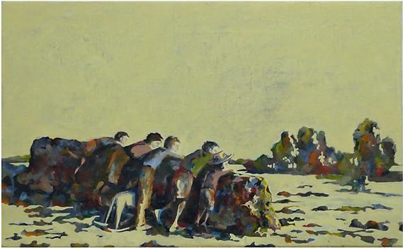 Ungarna, 49x39 cm 2011, OPD