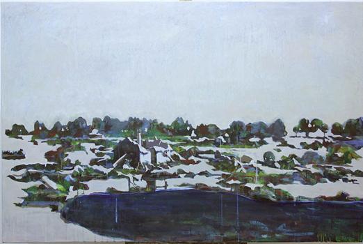 Vid Utanmyra, 146x90 cm 2010, OPD